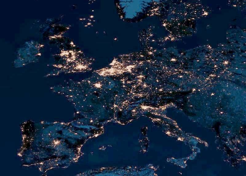 europevueducielnuit
